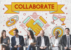 Collaboration Solution Partnership Cooperation Concept Stock Images