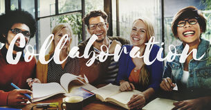 Collaboration Team Support Together Concept Royalty Free Stock Images
