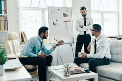 Collaboration. royalty free stock image