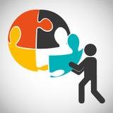 Collaborative concept design Stock Photo