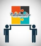Collaborative concept design Stock Photos