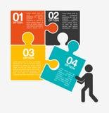 Collaborative concept design Stock Images