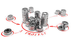 Collaborative Finance, Crowdfunding Stock Photos