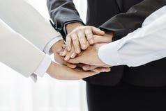 Collaborazione del gruppo di affari Immagine Stock