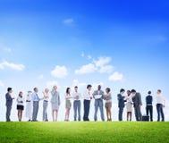 Collaborazione Team Teamwork Partnership Occupation Professional Immagine Stock