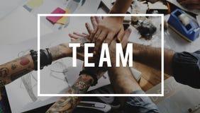 Collaborazione Team Together We Can Brainstorm immagini stock