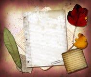 Collage 1 de la lona Imágenes de archivo libres de regalías