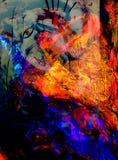 Collage abstracto Fotografía de archivo