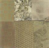 Collage abstrait illustration stock