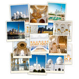 Collage Abu Dhabi Lizenzfreie Stockfotografie