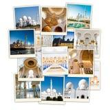 Collage Abu Dhabi Royalty Free Stock Photography