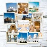 Collage Abu Dhabi Stock Photography
