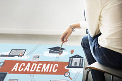 Collage Academic Education Institution Concept Royalty Free Stock Photography