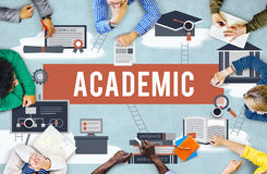 Collage Academic Education Institution Concept Stock Image