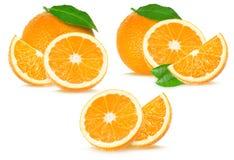 Collage arancio Immagine Stock