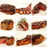 Collage arrostito della carne Immagine Stock Libera da Diritti