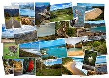 Collage av bilder från Australien royaltyfria foton
