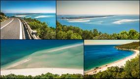 Collage av turist- foto av Sintraen, Portugal arkivbilder