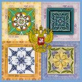 Collage avec des bras Image stock