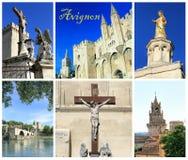 Collage Avignon, France de photo Images stock