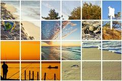 Collage báltico fabuloso Fotos de archivo libres de regalías