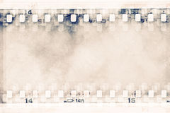 Collage background. Made of filmstrips Royalty Free Stock Image