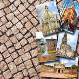 Collage of beautiful Dresden. Germany. Royalty Free Stock Photo