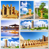 Collage of beautiful Egypt . Royalty Free Stock Image