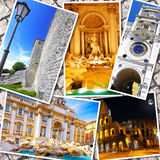 Collage of beautiful Italy. Stock Photography