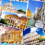 Collage of beautiful Italy. Royalty Free Stock Images
