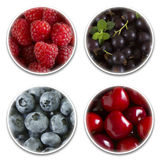 Collage berries Royalty Free Stock Photography