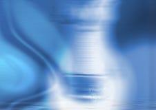 Collage blu illustrazione di stock