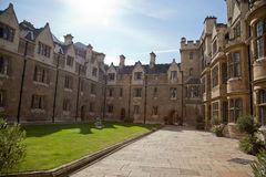 College in Cambridge Stock Photography