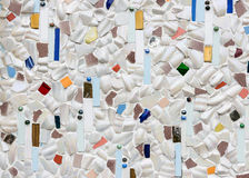 Collage ceramic tile Stock Image