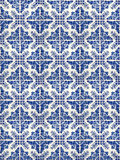 Collage of ceramic tiles from Portugal Royalty Free Stock Image