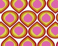 collage colorful retro teardrops Στοκ Εικόνες