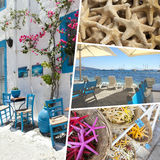Collage of Crete (Greece) images - travel background (my photos). Collage of Crete Greece images - travel background (my photos Royalty Free Stock Images