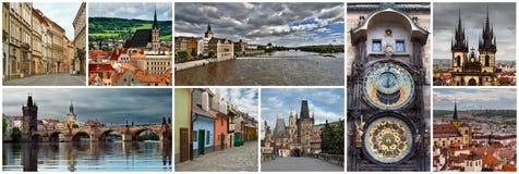 Collage Czech Republic Royalty Free Stock Photo