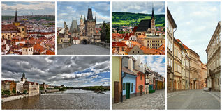 Collage Czech Republic Royalty Free Stock Photos