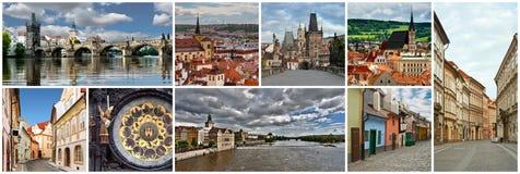 Collage Czech Republic Stock Photos