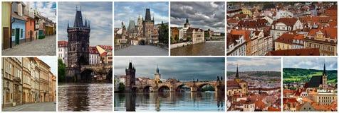 Collage Czech Republic Stock Image