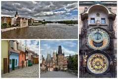 Collage Czech Republic Royalty Free Stock Images