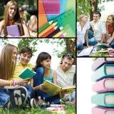 Collage d'éducation Image libre de droits