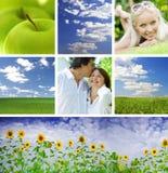 Collage d'été Image libre de droits