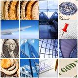 Collage d'affaires Photos libres de droits