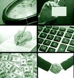 Collage d'affaires photos stock
