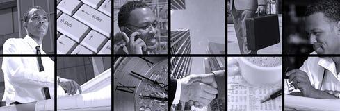 Collage d'affaires Photo stock