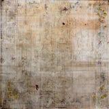 Collage d'annata Grungy con il fondo di buio di Brown del testo illustrazione vettoriale