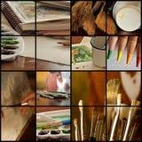 Collage d'art Photographie stock libre de droits