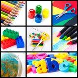 Collage d'éducation Photographie stock
